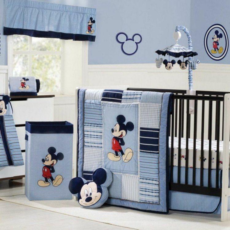 azul varones cama diseño cortinas