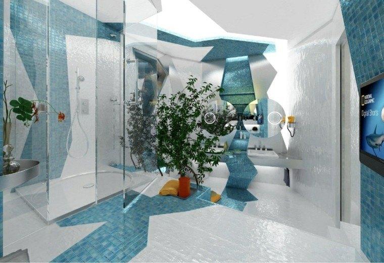 Baño Azulejos Azules: Baños azules espaciohogar. Tips de ...