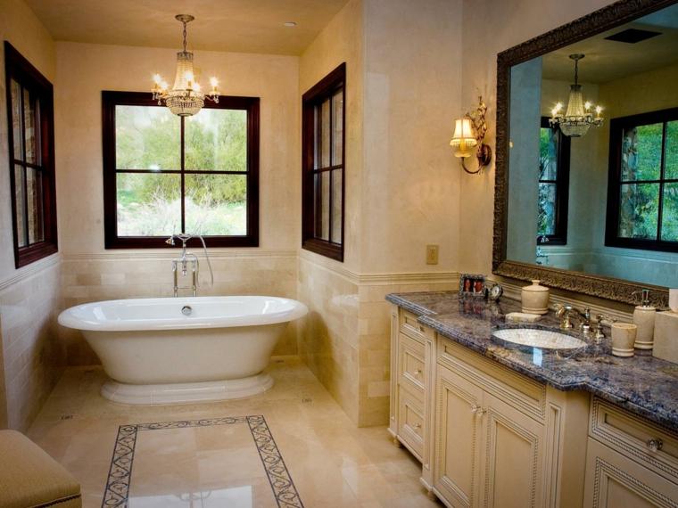 baño estilo rustico estilo lujoso