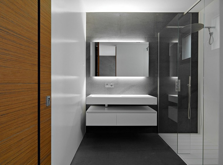 Ba os modernos con ducha cincuenta ideas estupendas for Best bathroom designs 2014