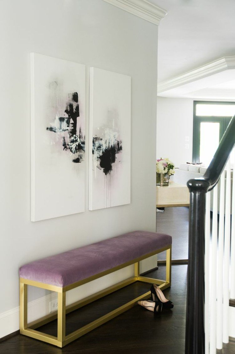 Entradas y recibidores con encanto 50 ideas para decorar - Decoracion para recibidores ...