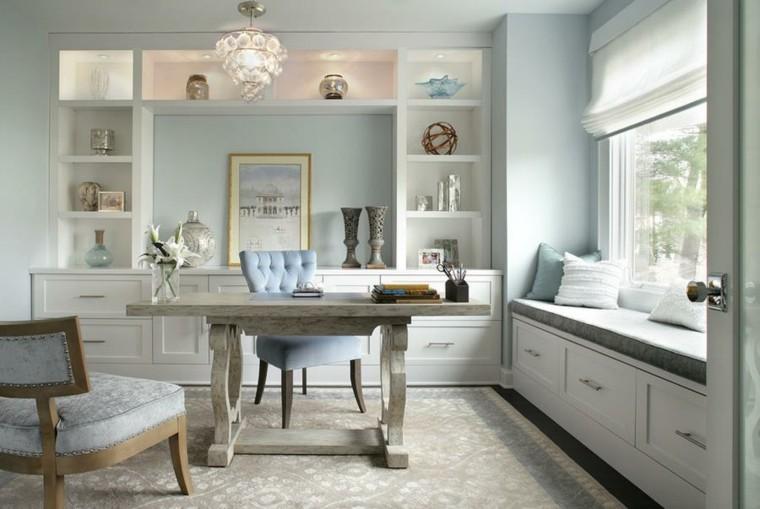 blanco madera jarrones flores escritorio
