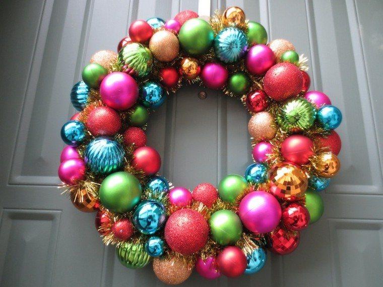 bonito diseño corona colores puerta