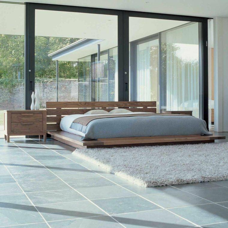 bonito diseño dormitorio vistas jardin