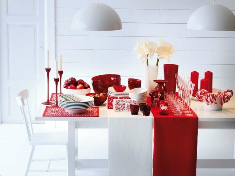 bonito diseño color blanco rojo