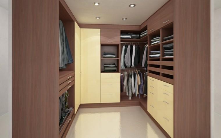 bonito armario vestidor laminado madera