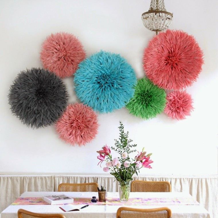 bonitos diseños tocados colores