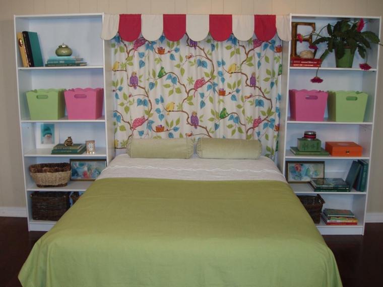 Cabeceros hechos a mano cincuenta ideas geniales - Cabecero cama infantil ...