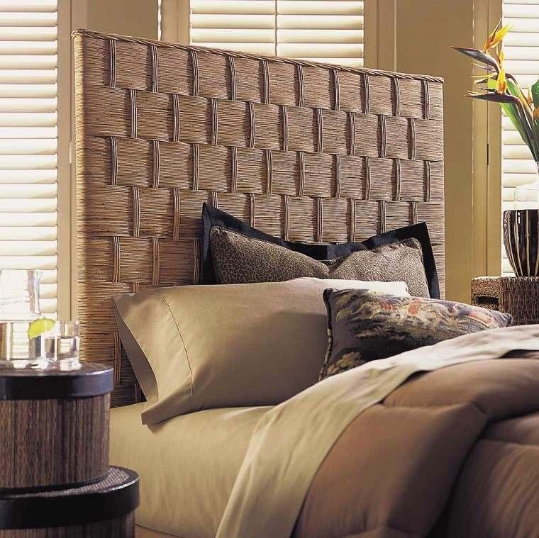 Cabeceros originales 70 ideas para el dormitorio de tus for Cama diseno