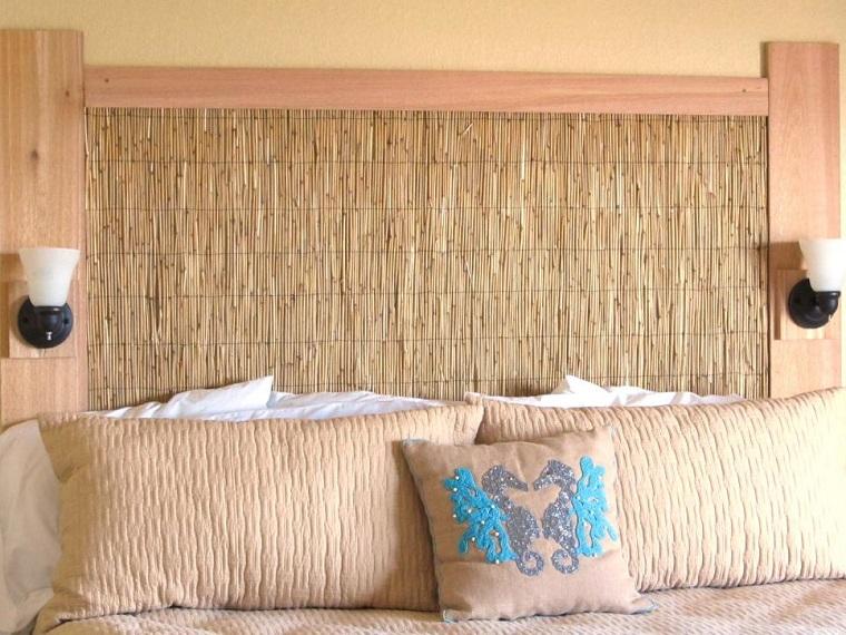 cabecero cama dormitorio moderno inspiracion playa ideas