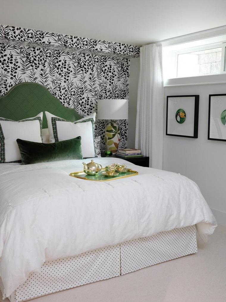 Cabeceros originales 70 ideas para el dormitorio de tus - Cabecero de cama ...