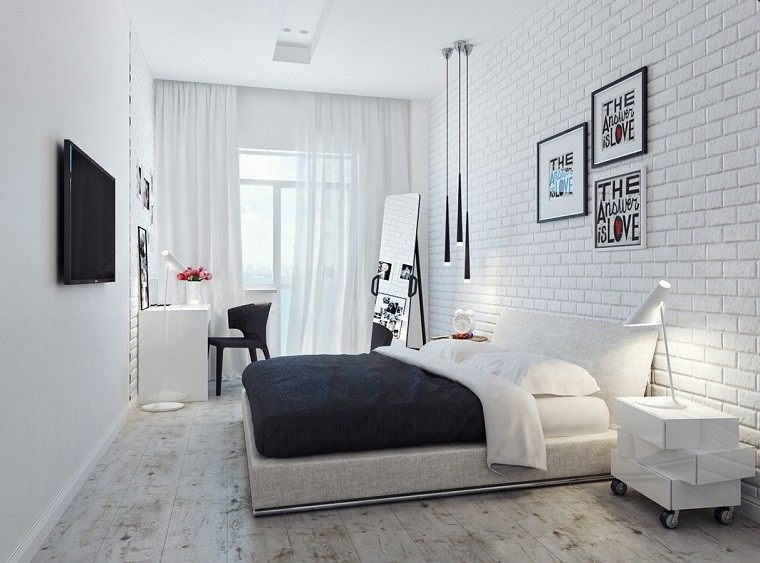 small black and white bedroom cabeceros originales 70 ideas para el dormitorio de tus 19810