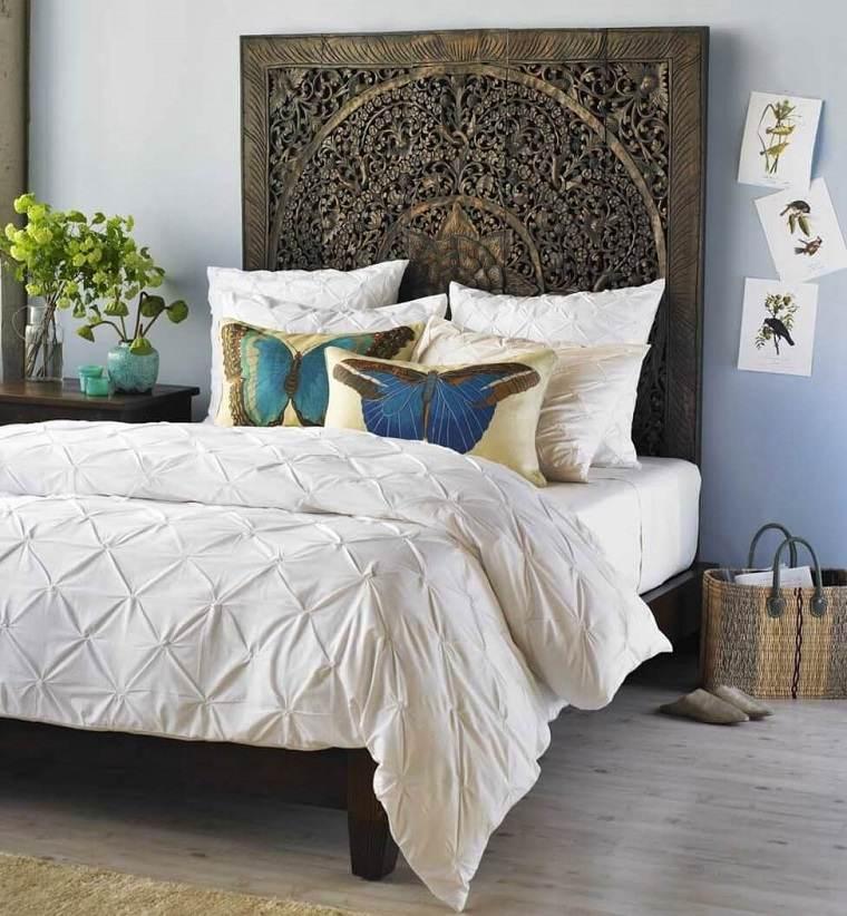 Cabeceros originales 70 ideas para el dormitorio de tus sue os - Cabeceros para camas ...