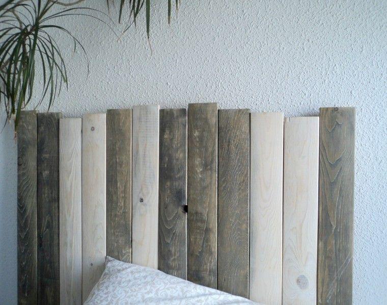 cabeceros hechos a mano listones madera