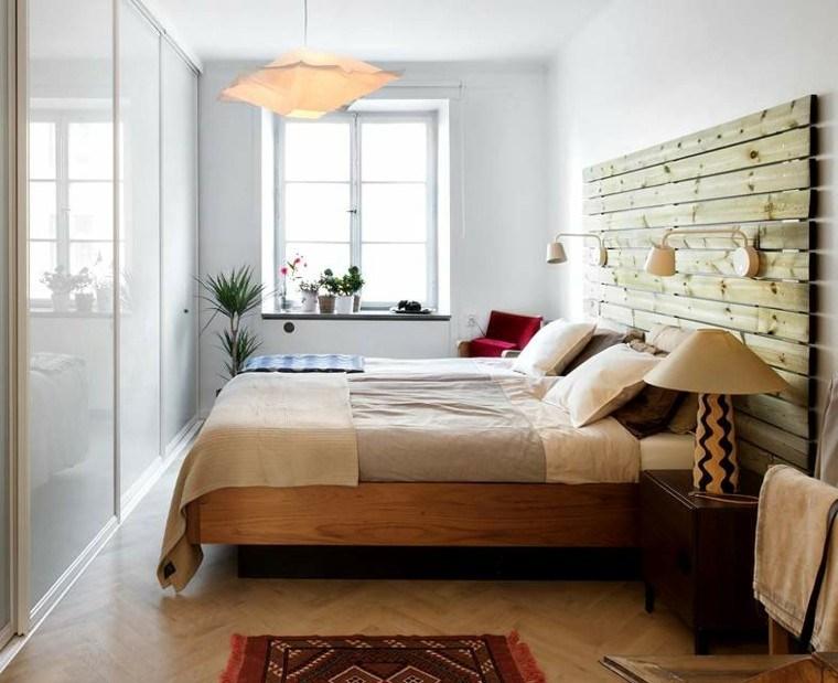 Cabeceros hechos a mano cincuenta ideas geniales - Cabeceros de cama pintados ...