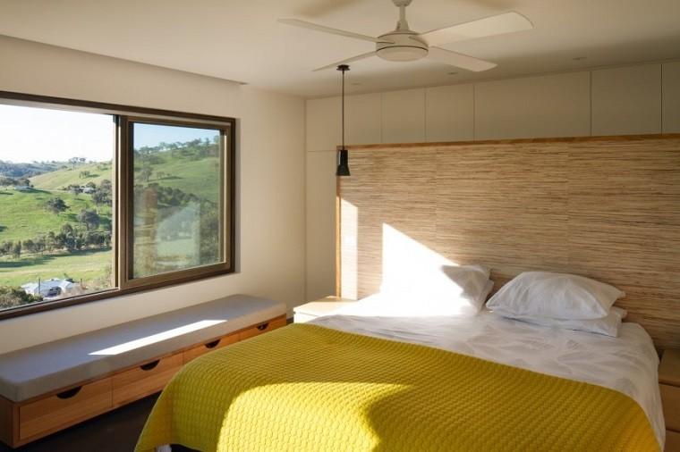 Cabeceros originales 70 ideas para el dormitorio de tus sue os - Cabezales de cama de madera ...