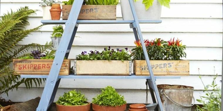 cajas madera escalera creativa diy