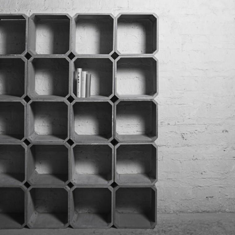 cajones cemento foto diseño moderno