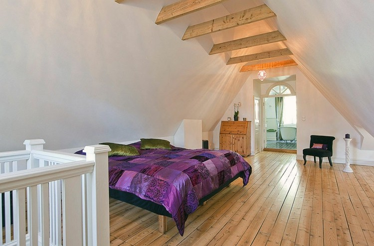 calida simple decoracion madera escalera