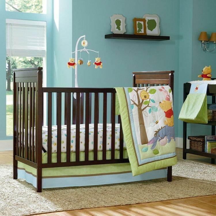 cama decoracion alfombra azules crsital