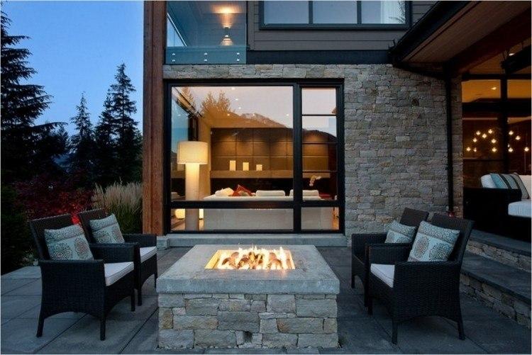 countryside cabin rest recreation modern