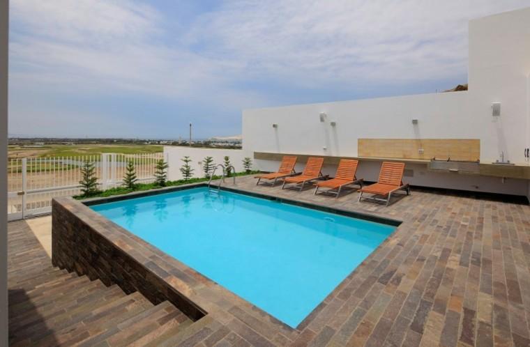 Oasis moderno 100 ideas para refugios en el jard n for Terrazas y piscinas modernas