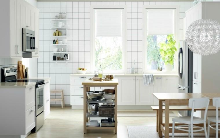 catalogo ikea cocina azulejos blancos