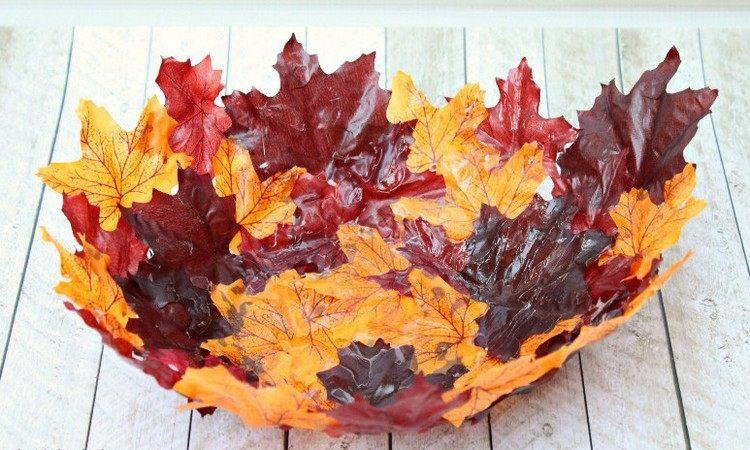 centro mesa colorido madera secas