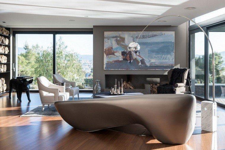 cerdo decorativo mesa salon cuadro precioso moderno ideas