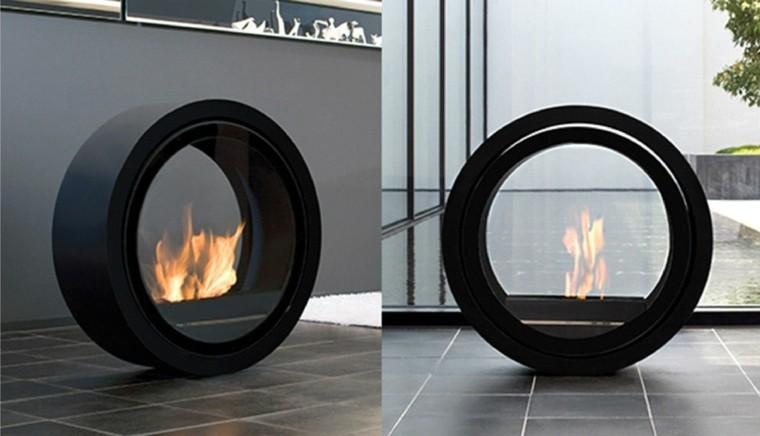 circular gas estilo minimalista fuego