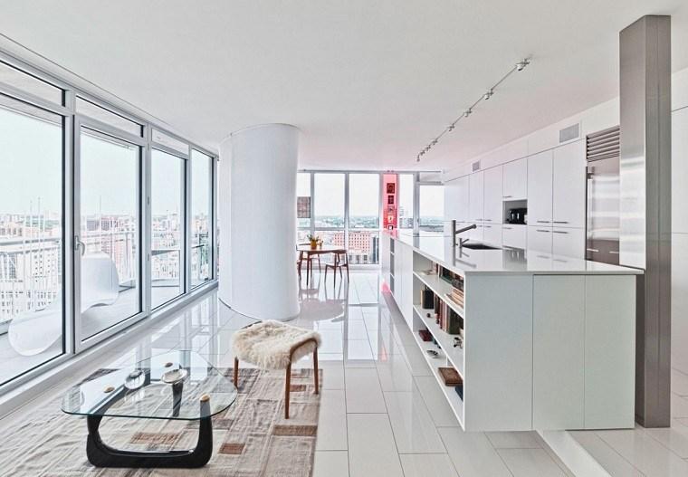 Dise o cocinas abiertas al sal n pr cticas y funcionales for Appartement ultra design