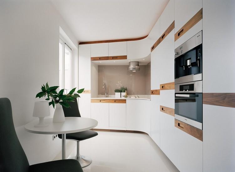cocina blanca madera decoracion