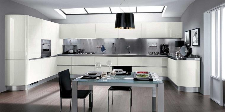 cocina diseno moderno espacios amplios