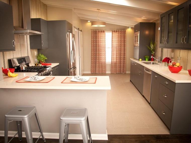Barras De Cocina Modernas - Diseños Arquitectónicos - Mimasku.com
