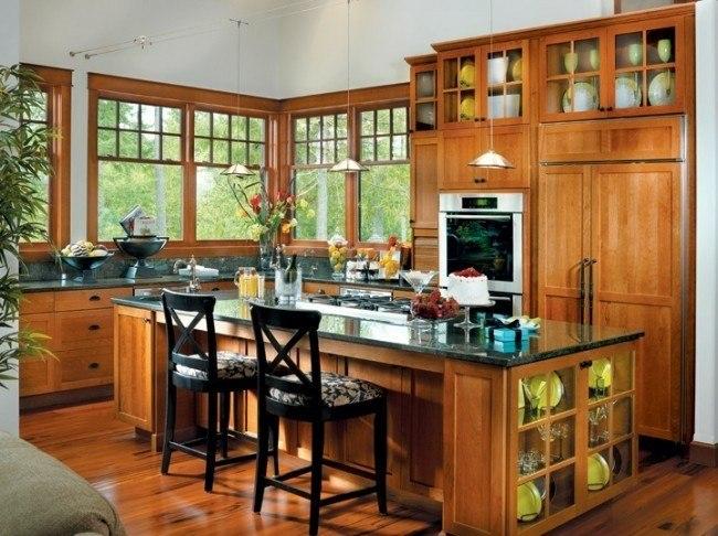 cocina madera estilo tradicional