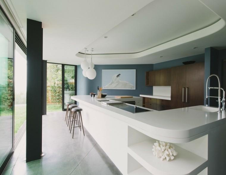 cocina moderna color girs