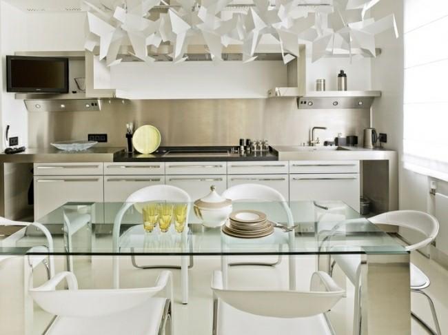 Cocina moderna o tradicional - cien diseños interesantes