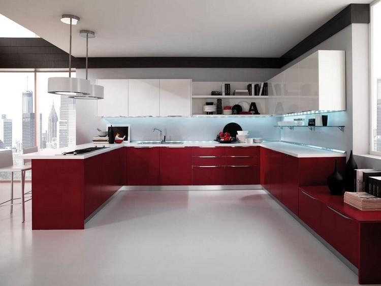 Decoracion de cocinas a todo color 78 ejemplos for Cocinas modernas 2015