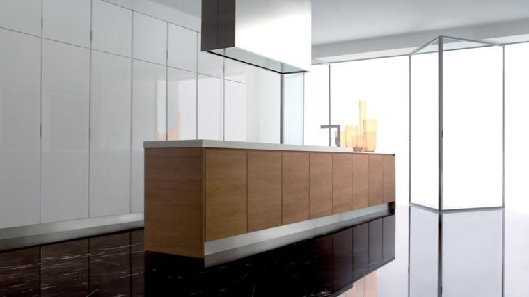 diseño cocina moderna estilo minimalista