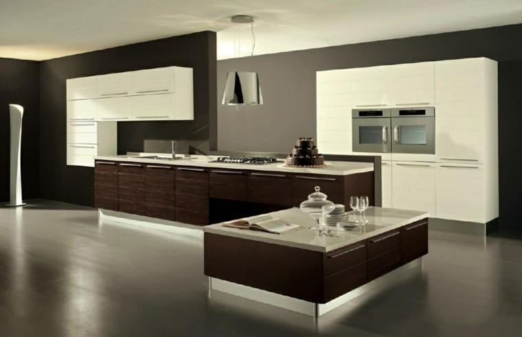 cocina moderna muebles madera laminada