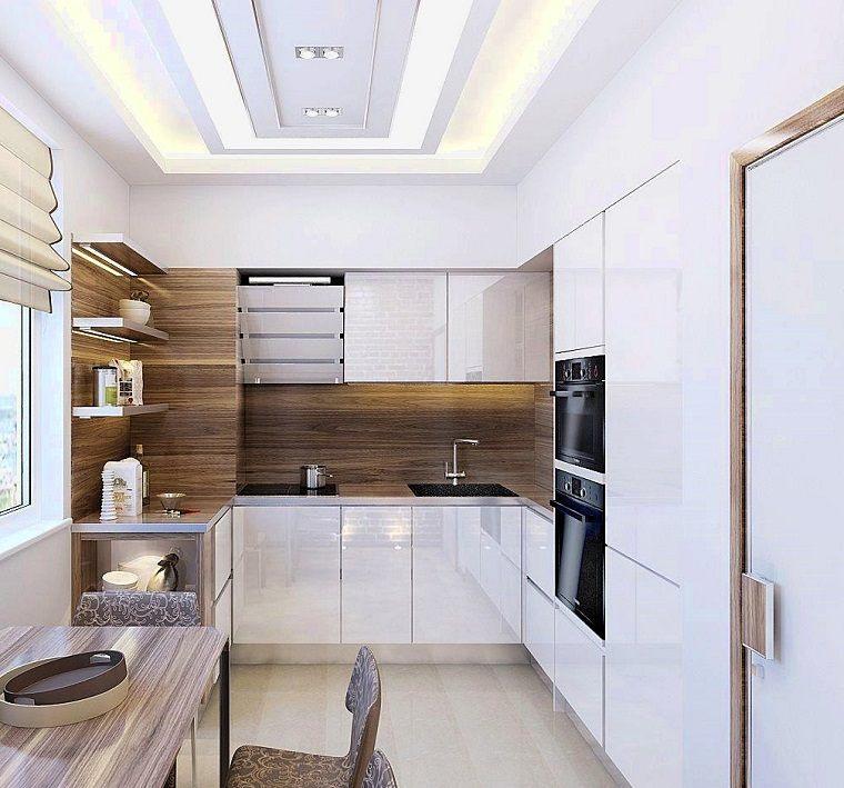 Cocina moderna en forma de U: 50 ideas ultra originales -
