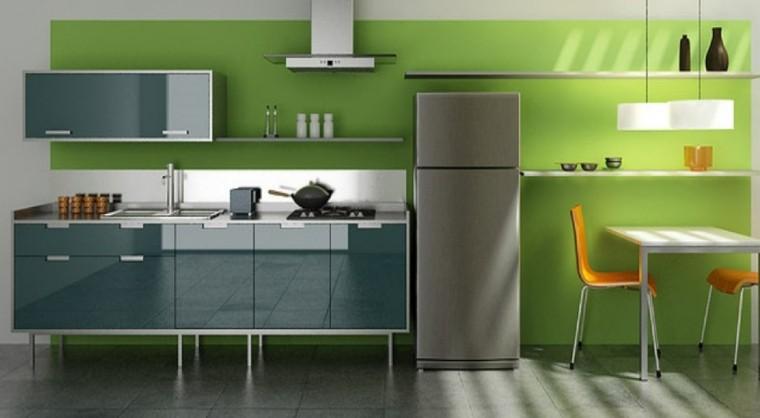 Cocinas pintadas con los colores de moda 50 ideas for Pitturazioni moderne
