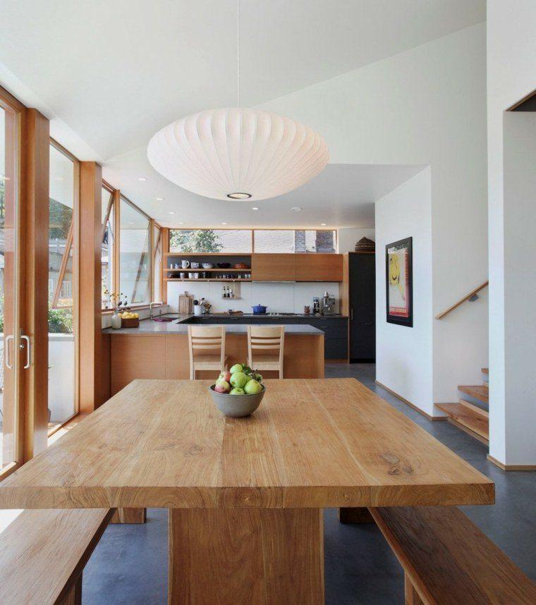 Cemento como tendencia de decoraci n para interiores - Suelos para cocinas modernas ...
