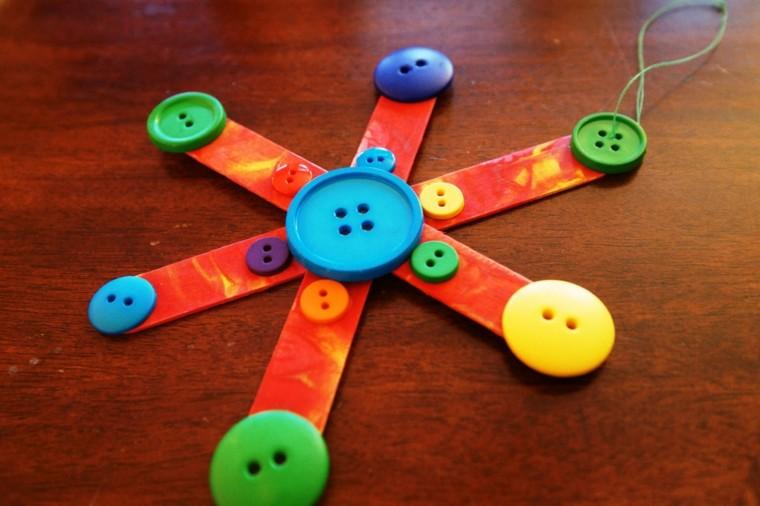 colgante boton estilo colorido colgante