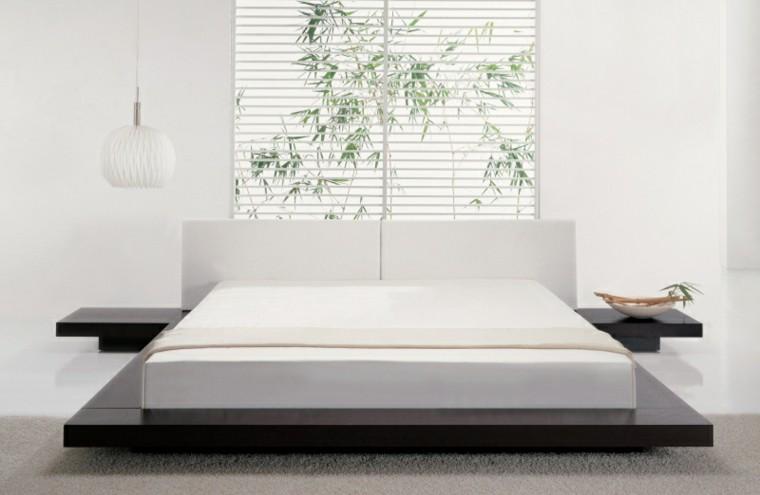 colores para habitaciones asiatico blanco jardin