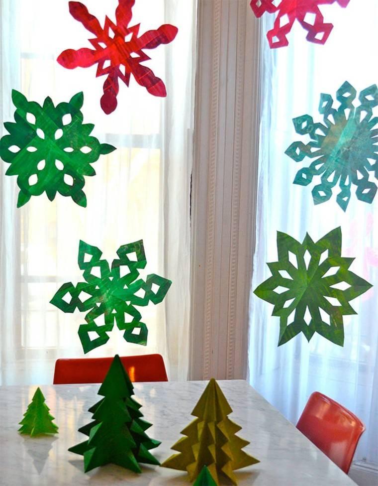 colorido estrellas cristales cortinas colgantes