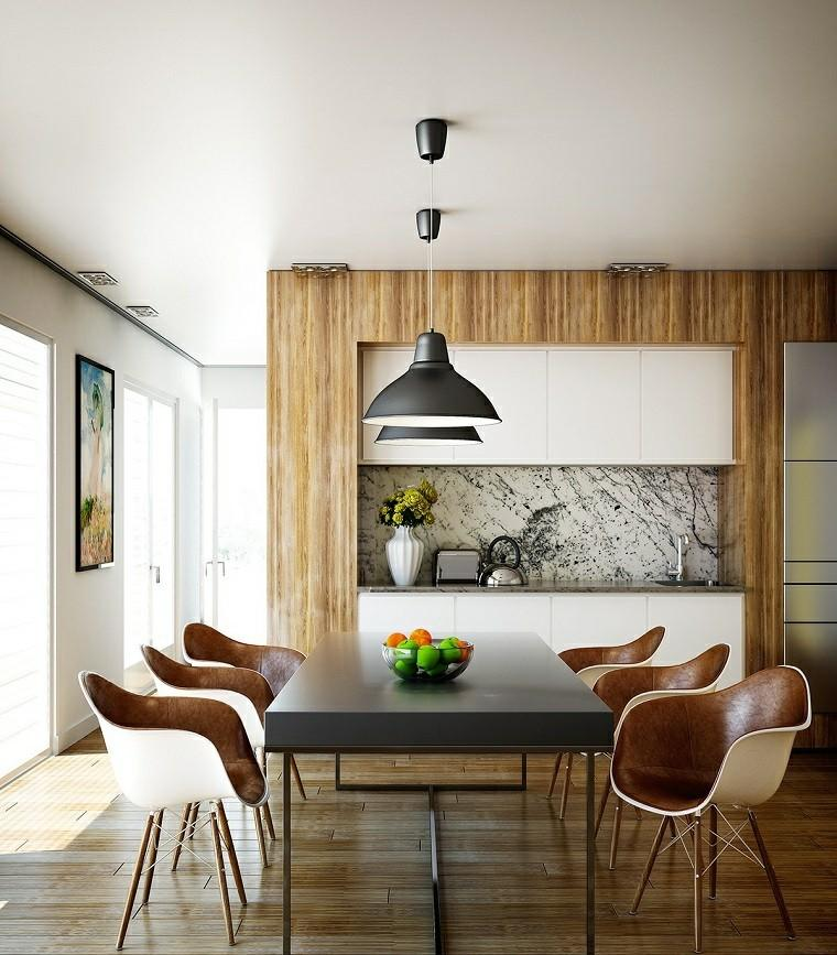 Ideas decorar cocina comedor for Como decorar un living comedor moderno