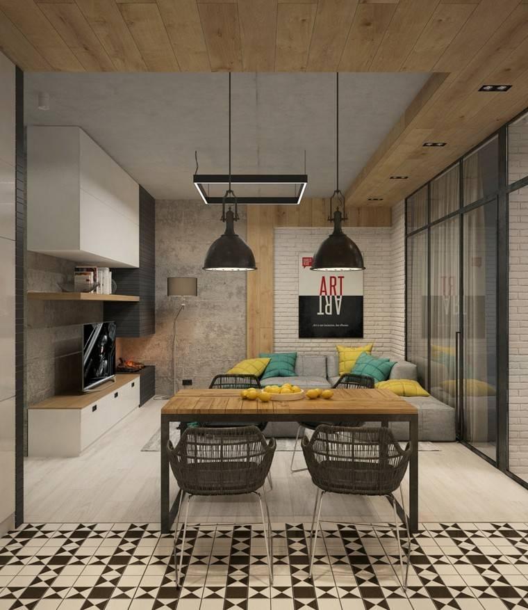 Cemento pulido o sin pulir para apartamentos modernos for Apartamentos disenos modernos