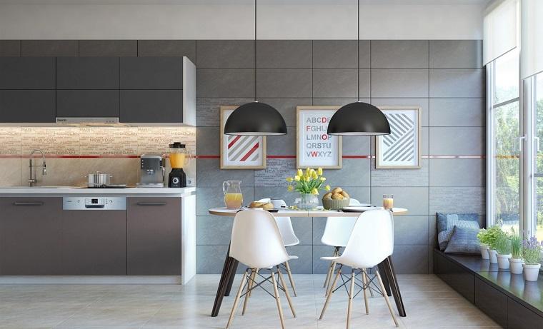 Decoracion de comedores m s de 50 ideas para impresionar for Cuadros modernos para decorar cocinas