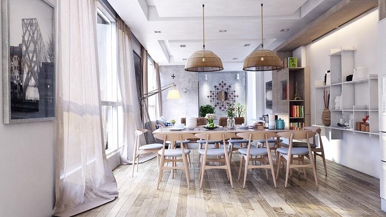 Decoracion de comedores m s de 50 ideas para impresionar - Comedores decorados modernos ...